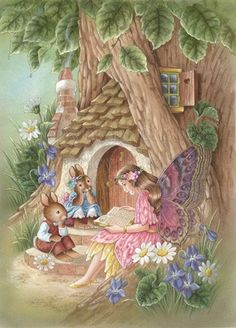Story Time ~ by Shirley Barber Art