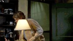 [GIFSET] Supernatural hates lamps. STOP LAMP ABUSE TODAY. REPIN THIS AND SAVE LAMPS FROM ABUSE. (click through!)