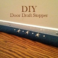 Find This Pin And More On DIY {Home Decor}. Door Draft Stopper ...