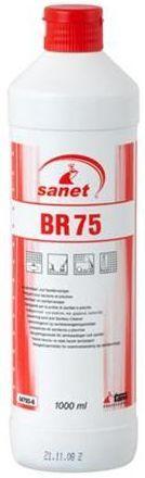 Tava BR 75 este o solutie profesionala care indeparteaza straturile groase de calcar, depunerile de urina, rugina, ciment.