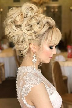 36 Most Outstanding Wedding Updos For Long Hair ❤ See more: http://www.weddingforward.com/wedding-updos-for-long-hair/ #wedding #hairstyles