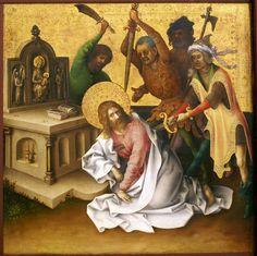 Stefan Lochner, Die Apostelmartyrien, Ausschnitt, Martyrium des hl. Matthäus (Martyrdom of St. Matthew) by HEN-Magonza, via Flickr