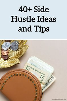There are many different ways to make money on the side. Hear from several experts about how you can make side hustle income. Earn Extra Cash, Extra Money, Way To Make Money, Make Money Online, Jobs For Housewives, Time Management Tips, Work From Home Moms, Making Ideas, Hustle