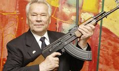 The AK-47 assault rifle was designed in the Soviet Union in the 1940s to fight against fascism. In 2015 it has been used in terrorist attacks in Paris, Kenya and Sousse