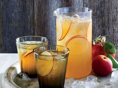 The cider-honey base of this fall beverage makes enough for both adult and kid…
