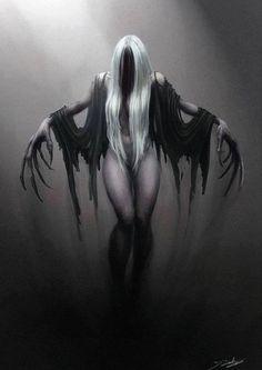 Fallen angelic creepyness