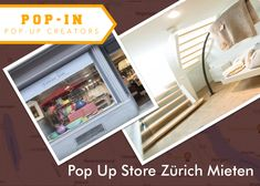 Want to set up and run a pop-up store in Zurich Mieten? We have the exclusive pop-up spaces available for rent for a week or a month. Visit us and find the best short-term rental pop-up stores in Zurich.