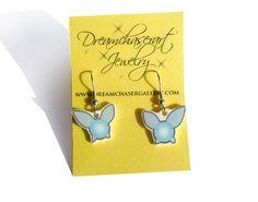cute legend of zelda navi earring set by dreamchaserart on Etsy