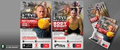 Flyer for legendary Strength Coach Steve Maxwell