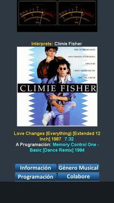 "Climie Fisher - Love Changes (Everything) [Extended 12 Inch] 1987 Sonando en Programación de euro80s.net ""Tu Mejor Opción"" MD-80's"