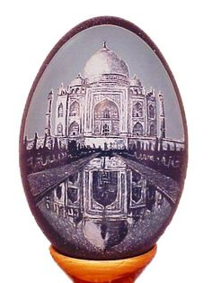 The Emu Egg Taj Mahal by Gary Gunn