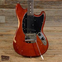 Fender Mustang Mocha 1975 (s529)
