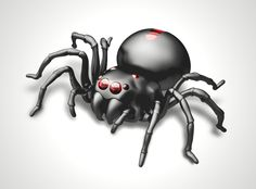 Salt Water Fuel Cell Spider, Scary Fun