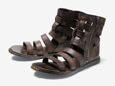 Mihara Yasuhiro's steel-toed Roman sandals. Not sure what these pair with.