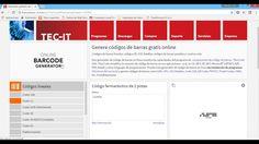 Crear codigos de barra, QR, wifi, postales en internet gratis