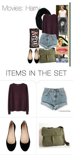"""""""Movie date: Harry"""" by dressingupwith1d ❤ liked on Polyvore featuring art, harry, one direction and harry styles"""