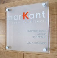Registered Office signs - bespoke signage, customised design signs using perspex material http://www.de-signage.com/Officesigns.php
