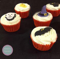 Cupcakes de Calabaza / pumpkin cupcakes / Halloween