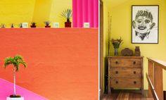 Casa Stile Pareti Colorate Ispirazioni Caraibiche