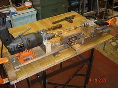 DIY Lathe - by EMVarona @ LumberJocks.com ~ woodworking community