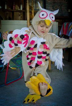 Pink Owl Costume