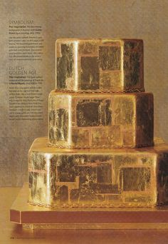 gold cake anyone?