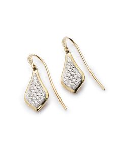 Lexi Drop Earrings In Pave Diamond And 14k Yellow Gold - Kendra Scott Jewelry