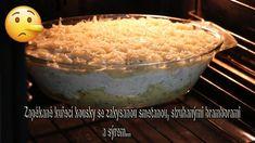 zapékané kuřecí kousky se strouhanými bramborami, sýrem a zakysanou smet... Grains, Rice, Food, Youtube, Essen, Meals, Seeds, Yemek, Youtubers