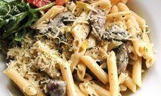 Supergod svamp-pastasås som vi ätit med gnocci