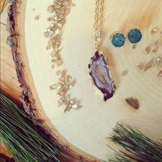 """Geode Jewelry that """"Rocks"""""""
