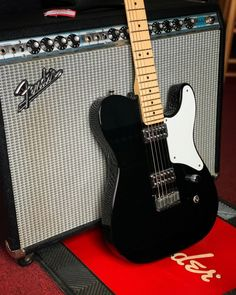 "Part of the Telebration Series (60th anniversary of the Tele), this Fender Cabronita Telecaster features a cool ""tuxedo"" look and is equipped with two TV Jones FilterTron pickups. Full details and pricing at elderly.com."