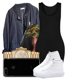 """""""135"""" by jalay ❤ liked on Polyvore featuring Urban Outfitters, Michael Kors and Vans"""