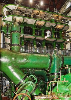 Worlds largest steam engine in Kempton- 19 million gallons of water per day