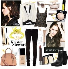 """""""Kristen Style **"""" by askriiid ❤ liked on Polyvore"""