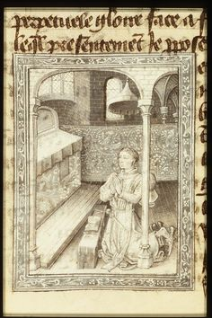 Philip the Good, Duke of Burgundy, at prayer | Follower of Jean le Tavernier