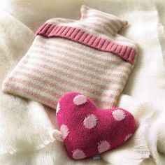 Hot Water Bottle Cover from An Old Sweater