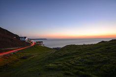 """Exit at sunset Golden Coast, North Devon, Architect Design, Mountains, Sunset, Twitter, Travel, Outdoor, Beautiful"