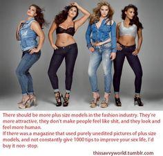 Plus Size Models! m//
