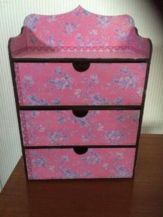 Hand decorated jewellery unit by GiftsandDesigns on Etsy