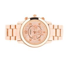 Desert Rose Gold Watch- must have! #fashion #jewelry #hot #pink #statement #gold #rosegold #watch #trendy #indie #cute #girl #woman #hipster #outfit #love