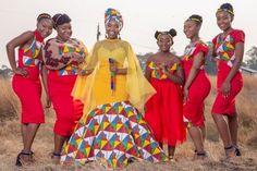 African Maxi Dresses, African Wedding Dress, Plan My Wedding, Wedding Blog, Black Cheerleaders, African Traditional Wedding Dress, South African Weddings, African Prints, Forgiveness