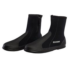 These Comfo Boots are made for comfort and support, and they're designed for divers with durable Neoprene, the flexible, insulated wetsuit material. The vulcanized rubber treaded soles are non-slip for slick surfaces, whether it's kiteboarding, kicking around the reef, or just taking a...