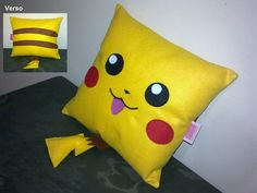 Handmade Pokemon Pikachu Party Favor Gift Pillow Cushion