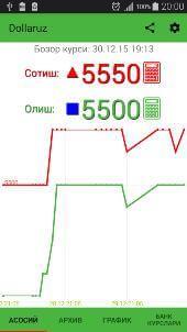 Dollaruz - рыночный курс $ скачать на Андроид