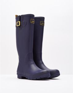 Field wellies French Navy Matt Rain Boots | Joules US