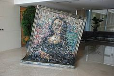 Mona Lisa Made of Motherboards