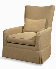 Elegance  Upholstered Swivel Chair by Century