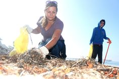 San Clemente, CA: Last year, volunteers collected 283 pounds of debris at the San Clemente Pier beach and 33 pounds at San Clemente State Beach, said Julia Williams, the director of Cleanup OC with Orange County Coastkeeper. San Clemente Pier, Julia Williams, Marine Debris, Pick Up Trash, Volunteers, Orange County, Coastal, Oc, California