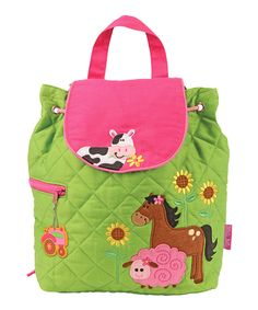 Take a look at this Farm Animal Quilted Backpack today!