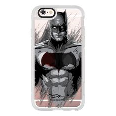iPhone 6 Plus/6/5/5s/5c Case - Batman (620 ZAR) ❤ liked on Polyvore featuring accessories, tech accessories, iphone case, iphone hard cases, iphone cover case and apple iphone cases